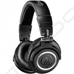 Audio-Technica ATH-M50xBT Wireless Bluetooth Over-the-Ear Headphone with Mic
