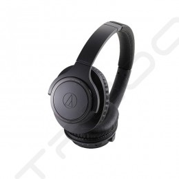Audio-Technica ATH-SR30BT Wireless Bluetooth Over-the-Ear Headphone with Mic - Black