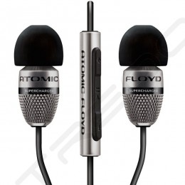 Atomic Floyd SuperDarts Titanium 2-Driver Hybrid In-Ear Earphone with Mic