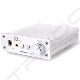 Audinst HUD-DX1 Desktop Headphone Amplifier & USB DAC - White
