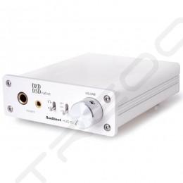 Audinst HUD-DX1 Desktop Headphone Amplifier & USB DAC - White