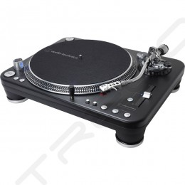 Audio-Technica AT-LP1240-USBXP Direct-Drive Professional DJ Digital Turntable (USB & Analog)