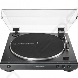 Audio-Technica AT-LP60XBT Fully Automatic Wireless Bluetooth Belt-Drive Stereo Turntable - Black
