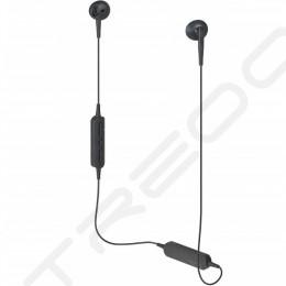 Audio-Technica ATH-C200BT Wireless Bluetooth In-Ear Earphone with Mic - Black