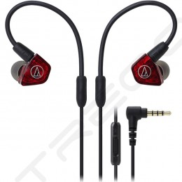 Audio-Technica ATH-LS200iS 2-Driver In-Ear Earphone with Mic