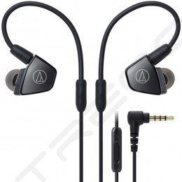 Audio-Technica ATH-LS300iS 3-Driver In-Ear Earphone with Mic