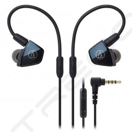 Audio-Technica ATH-LS400iS 4-Driver In-Ear Earphone with Mic