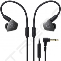 Audio-Technica ATH-LS70iS 2-Driver In-Ear Earphone with Mic