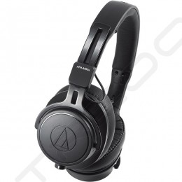 Audio-Technica ATH-M60x Professional Studio Monitor On-Ear Headphone - Black