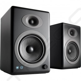 Audioengine A5+ Wireless Bluetooth 2.0 Desktop Bookshelf Speakers - Satin Black