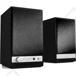 Audioengine HD3 2.0 Wireless Bluetooth Desktop Bookshelf Speaker System - Satin Black