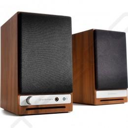 Audioengine HD3 Wireless Bluetooth Desktop Bookshelf Speakers - Walnut