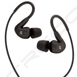 AudioFly AF100C In-Ear Earphone with Mic - Black