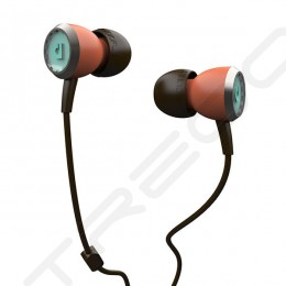 AudioFly AF33C In-Ear Earphone with Mic - Coral