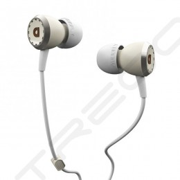 AudioFly AF33C In-Ear Earphone with Mic - Snare White