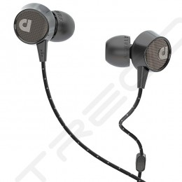 AudioFly AF56M In-Ear Earphone with Mic - Edison Black