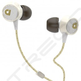 AudioFly AF56M In-Ear Earphone with Mic - Vintage White