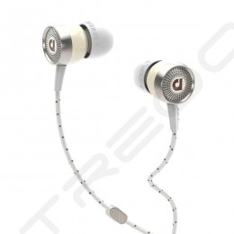 AudioFly AF45C In-Ear Earphone with Mic - Bakelite White