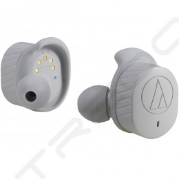 Audio-Technica ATH-SPORT7TW SonicSport® True Wireless Bluetooth In-Ear Earphone with Mic - Grey