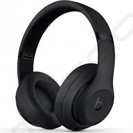 Beats Studio³ Wireless Bluetooth Noise-Cancelling Over-the-Ear Headphone with Mic - Matte Black