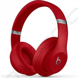 Beats Studio³ Wireless Bluetooth Noise-Cancelling Over-the-Ear Headphone with Mic - Red