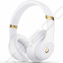 Beats Studio³ Wireless Bluetooth Noise-Cancelling Over-the-Ear Headphone with Mic - White