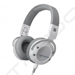 Beyerdynamic Custom Street On-Ear Headphone with Mic - White