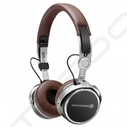 Beyerdynamic Aventho Wireless Bluetooth On-Ear Headphone with Mic - Brown