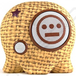 BoomBotix Boombot2+ Wireless Bluetooth Portable Speaker - Burlap