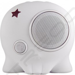 BoomBotix Boombot2+ Wireless Bluetooth Portable Speaker - Whiteout