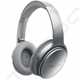 Bose QuietComfort 35 Noise-Cancelling Wireless Bluetooth Over-the-Ear Headphone with Mic - Silver