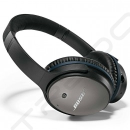 Bose QuietComfort 25 Noise-Cancelling Over-the-Ear Headphone with Mic - Black