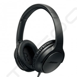 Bose SoundTrue Around Ear II Over-the-Ear Headphone with Mic (for iPhone / iPod) - Charcoal Black
