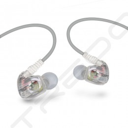 Brainwavz XFit XF-200 In-Ear Earphone with Mic - Frost White (EX-DEMO)
