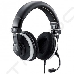 Cooler Master Ceres 500 Over-the-Ear Headphone with Mic - Black