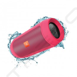 JBL Charge 2+ Wireless Bluetooth Portable Speaker - Pink