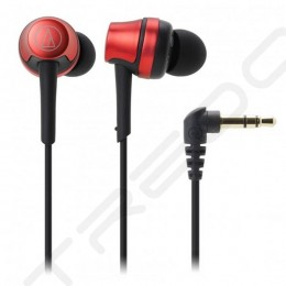 Audio-Technica ATH-CKR50iS In-Ear Earphone with Mic - Metallic Red