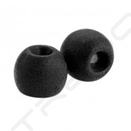 Comply Tsx-100 Comfort Foam Eartips with Wax Guard (3-Pairs) - Black