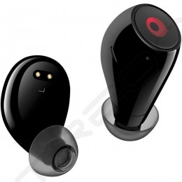 crazybaby Air True Wireless Bluetooth In-Ear Earphone with Mic - Black