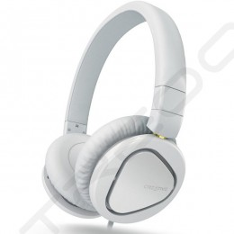 Creative Hitz MA2600 On-Ear Headphone with Mic - White