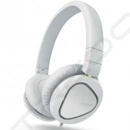 Creative Hitz MA2600 On-Ear Headphone with Mic - White