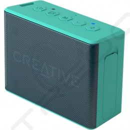 Creative Muvo 2c Digital Audio Player & Wireless Bluetooth Portable Speaker - Teal