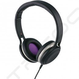 Cresyn C590H On-Ear Headphone with Mic - Black