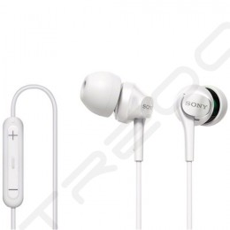 Sony DR-EX61IP In-Ear Earphone with Mic - White