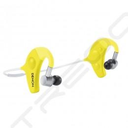 Denon AH-W150 Wireless Bluetooth Neckband In-ear Earphone with Mic - Yellow