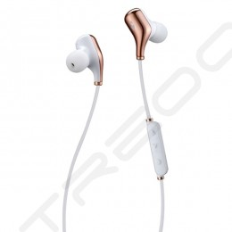 Nakamichi Elite X1 Wireless Bluetooth In-Ear Earphone with Mic - Rose Gold