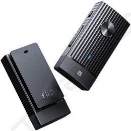 FiiO BTR1K Noise-Cancelling Wireless Bluetooth Portable Headphone Amplifier & USB DAC with Mic