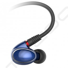 FiiO FH1 2-Driver Hybrid In-Ear Earphone with Mic - Blue