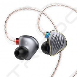 FiiO FH5 4-Driver Hybrid In-Ear Earphone - Titanium