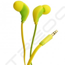 Fischer Audio FA-547i Mejor Yellow In-Ear Earphone with Mic